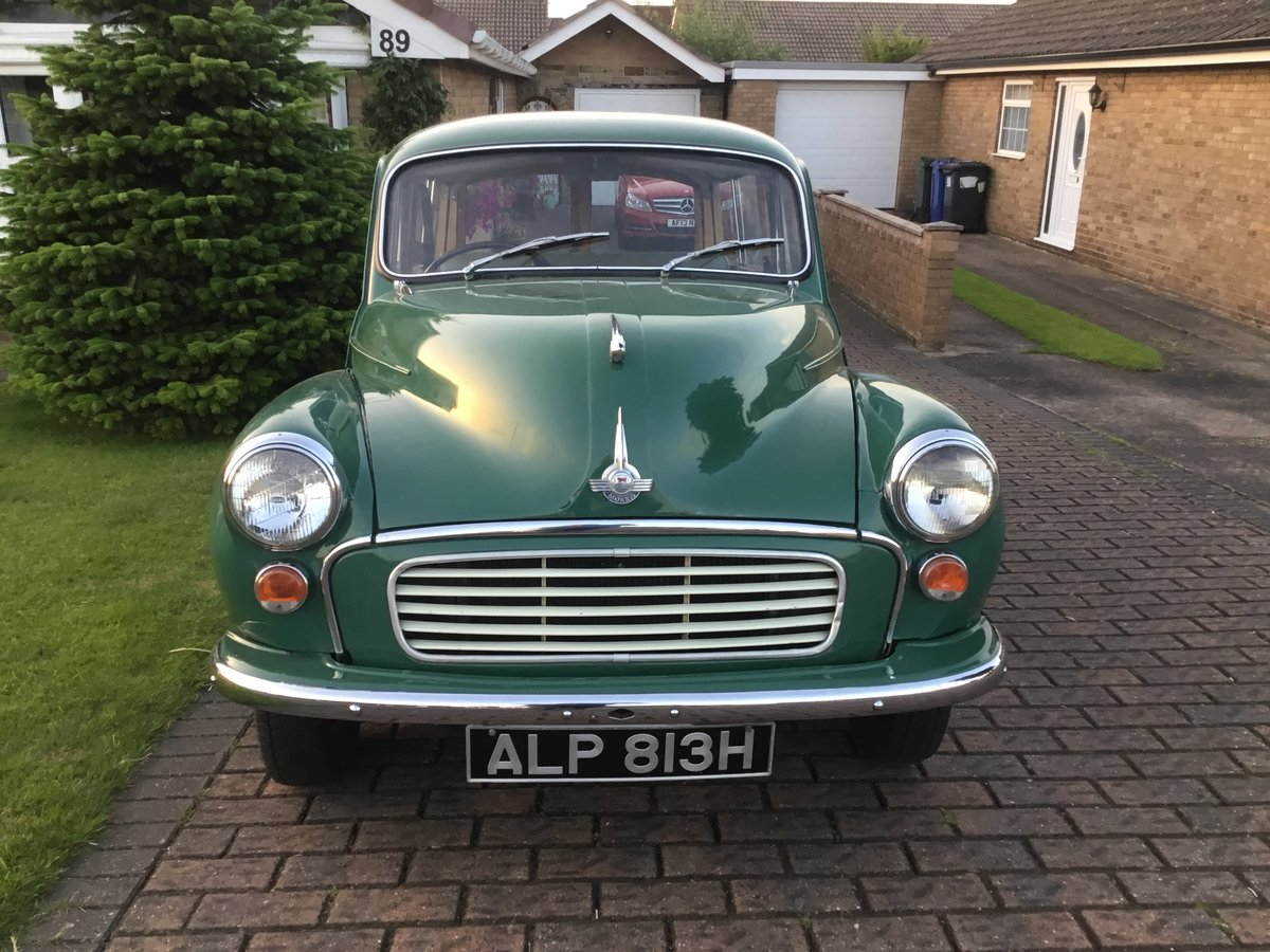 1969 morris minor traveller SOLD (picture 2 of 6)