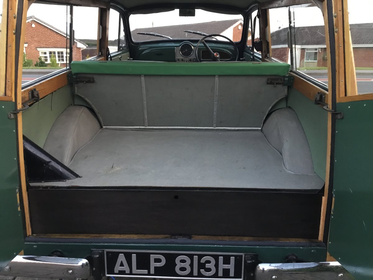 1969 morris minor traveller SOLD (picture 4 of 6)