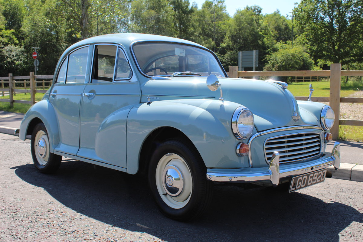 1966 Morris Minor 1098 cc Four Door Saloon SUPERB  SOLD (picture 1 of 6)