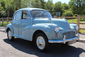 1966 Morris Minor 1098 cc Four Door Saloon SUPERB  SOLD