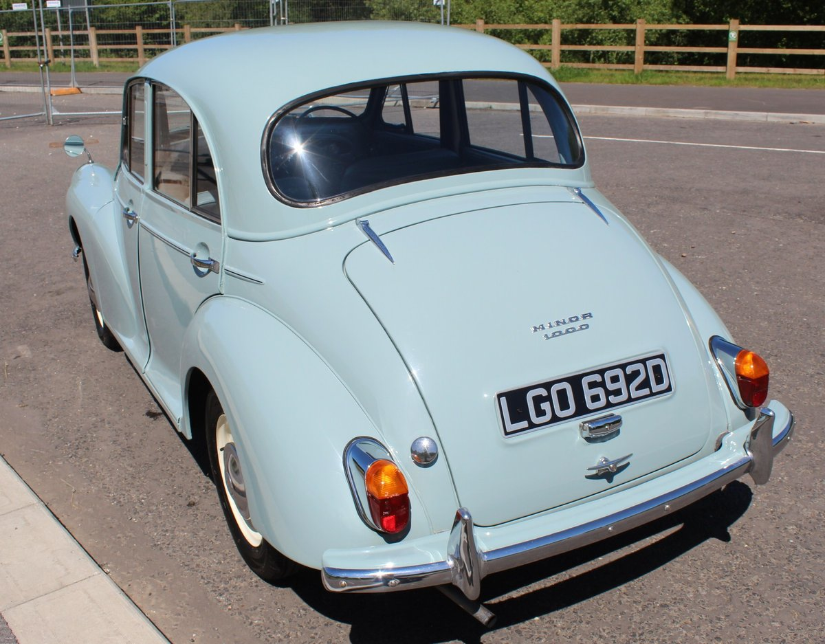 1966 Morris Minor 1098 cc Four Door Saloon SUPERB  SOLD (picture 2 of 6)