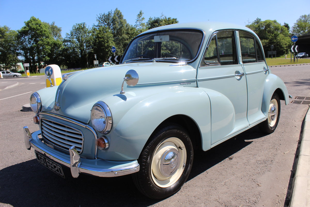 1966 Morris Minor 1098 cc Four Door Saloon SUPERB  SOLD (picture 3 of 6)