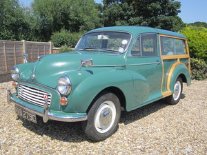 1965 Morris Minor Traveller in Exception Condition For Sale
