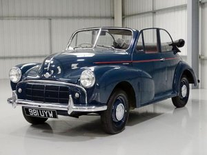 1953 Morris Minor SII 'Split Screen' Convertible Conversion For Sale by Auction