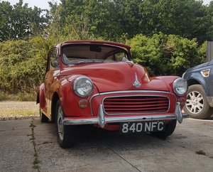 Morris Minor - 1962 2 Door For Sale