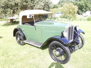 1932 Morris Minor Two seat Tourer For Sale