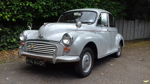 1967 MORRIS MINOR 'FLORIE' SALOON ~ DOVE GREY ~ 25 YR OWNED  SOLD