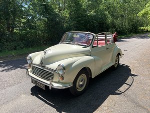 Morris Minor Convertible (1965) For Sale