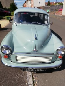1963 Beautiful Morris Traveller