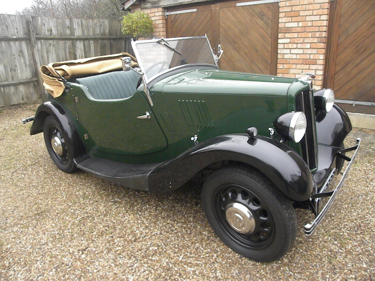 1938 MORRIS EIGHT SERIES 2 TOURER.NUT AND BOLT REBUILD. SOLD (picture 1 of 6)