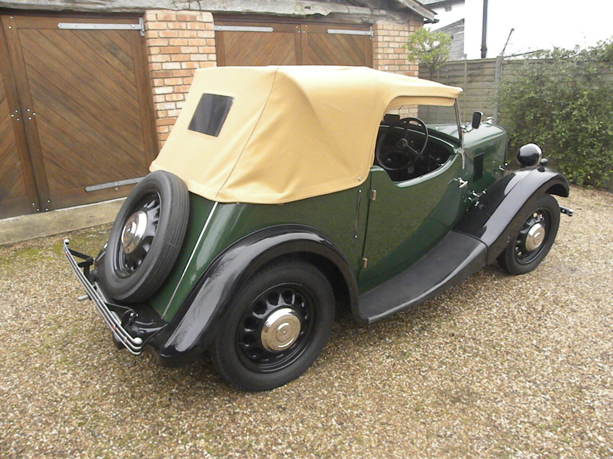 1938 MORRIS EIGHT SERIES 2 TOURER.NUT AND BOLT REBUILD. SOLD (picture 2 of 6)