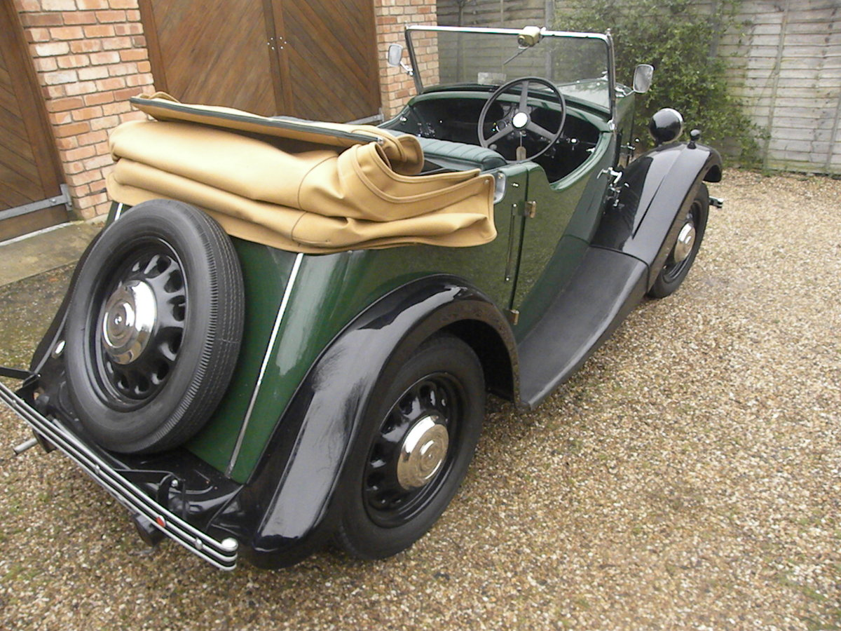 1938 MORRIS EIGHT SERIES 2 TOURER.NUT AND BOLT REBUILD. SOLD (picture 3 of 6)