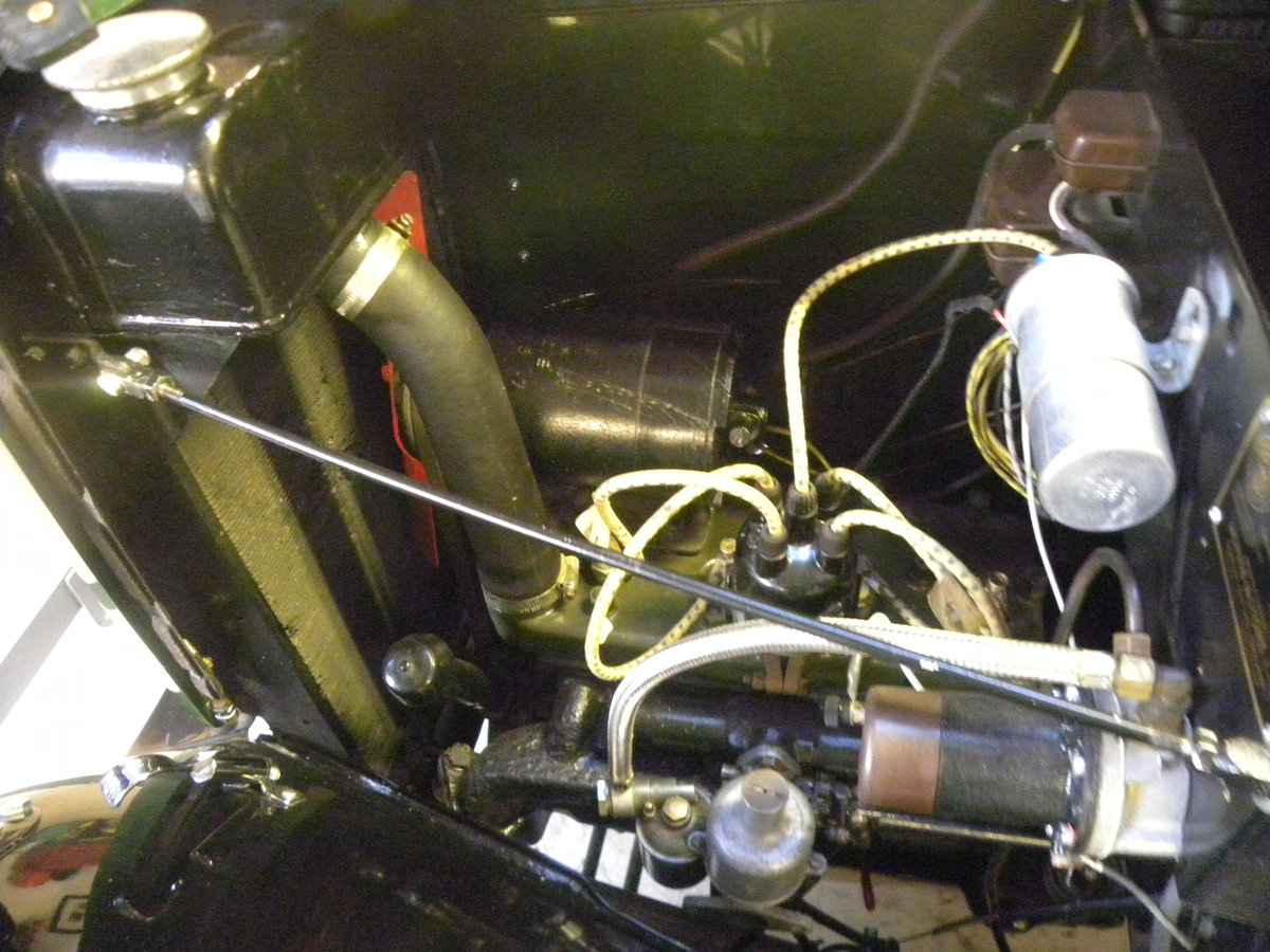 1938 MORRIS EIGHT SERIES 2 TOURER.NUT AND BOLT REBUILD. SOLD (picture 5 of 6)
