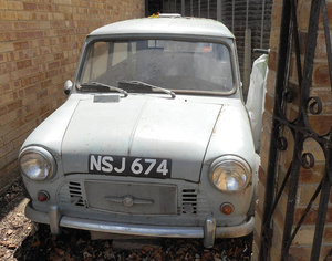 1961 Morris Mini Van - Barons Tuesday 16th July 2019 For Sale by Auction