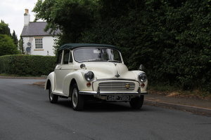 1966 Morris Minor Factory Convertible SOLD