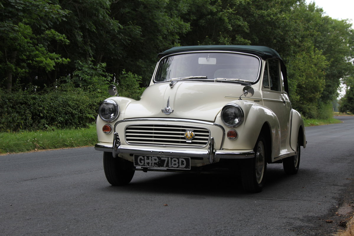 1966 Morris Minor Factory Convertible SOLD (picture 3 of 12)