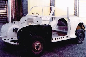 1955 Morris Minor Original Split Screen Convertible