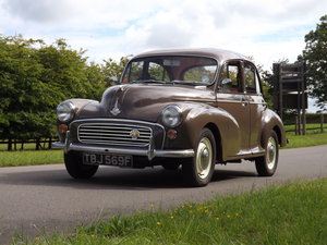 1968 Morris Minor 1000 - Fully Restored Car For Sale by Auction