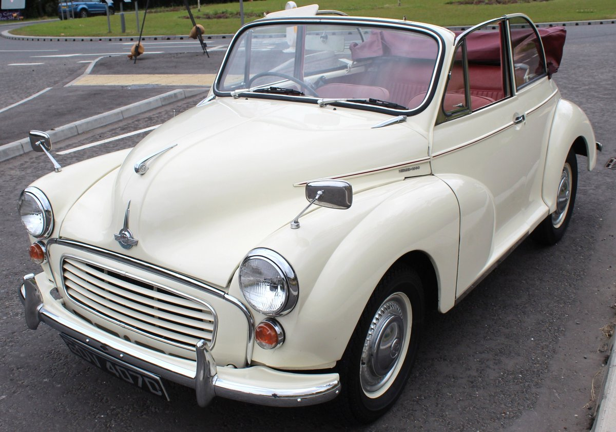 1966 Morris Minor Factory Convertible  Excellent SOLD (picture 2 of 6)