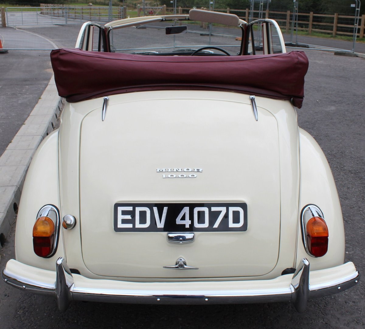 1966 Morris Minor Factory Convertible  Excellent SOLD (picture 5 of 6)
