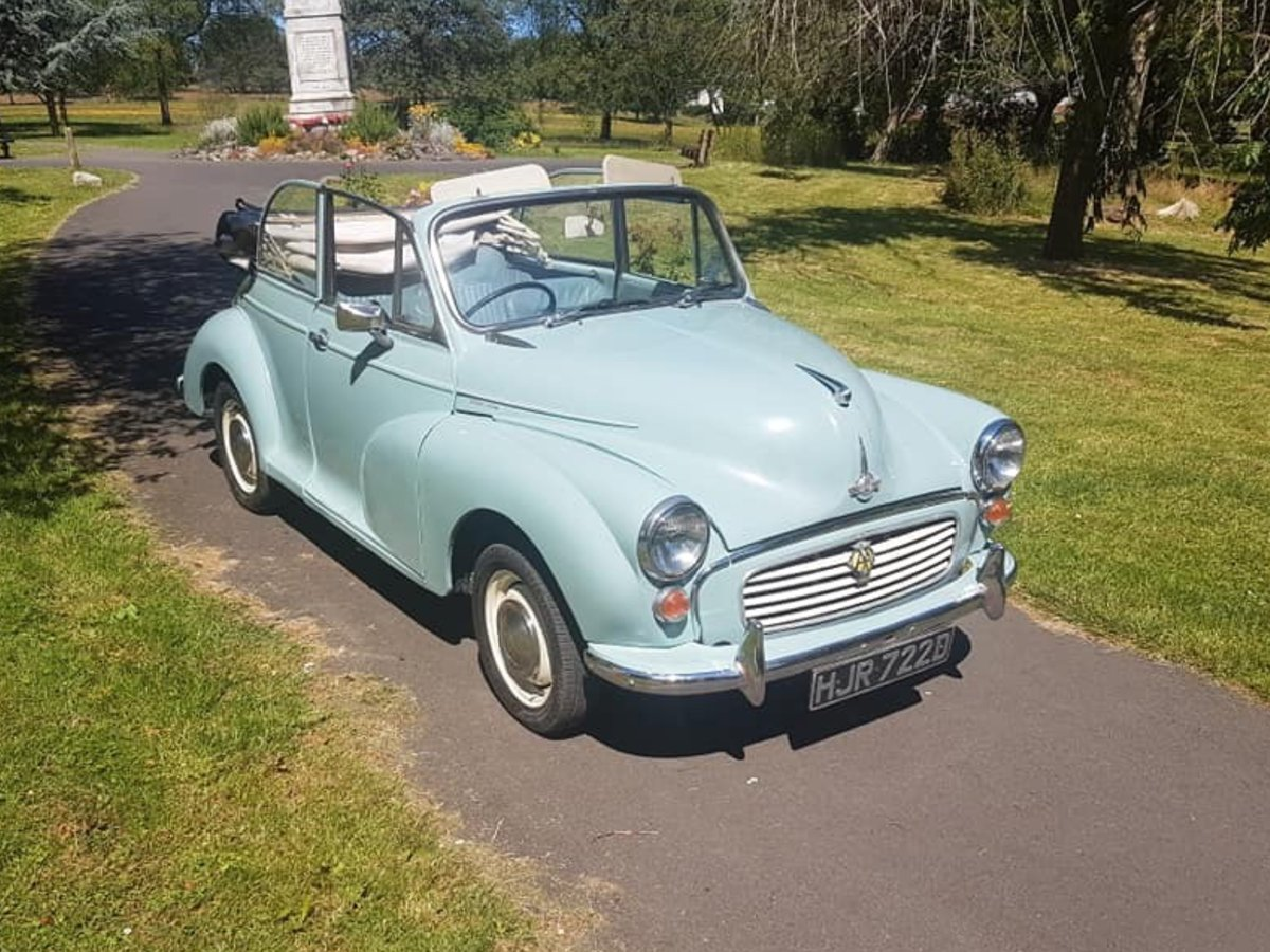 Genuine Morris minor convertable 1966 For Sale (picture 1 of 6)