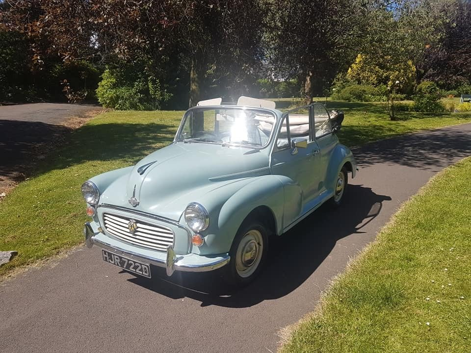 Genuine Morris minor convertable 1966 For Sale (picture 2 of 6)