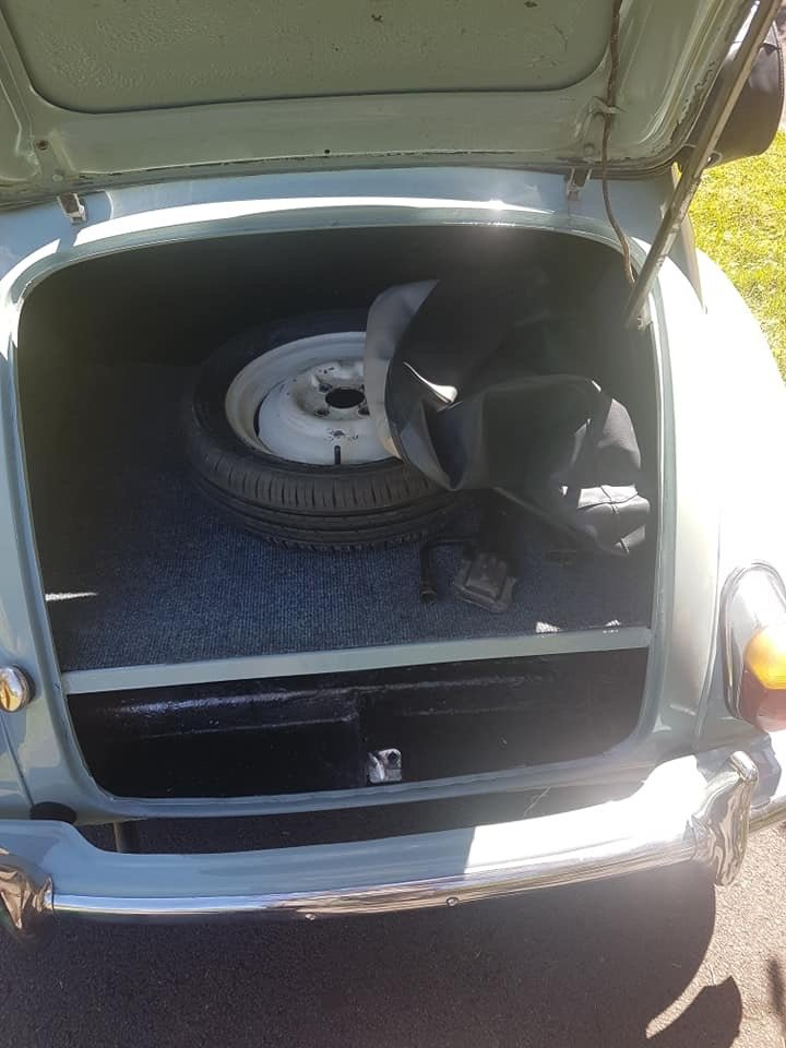 Genuine Morris minor convertable 1966 For Sale (picture 5 of 6)