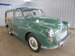 1968 ***Morris Minor Traveller 1000cc - 20th July*** For Sale by Auction