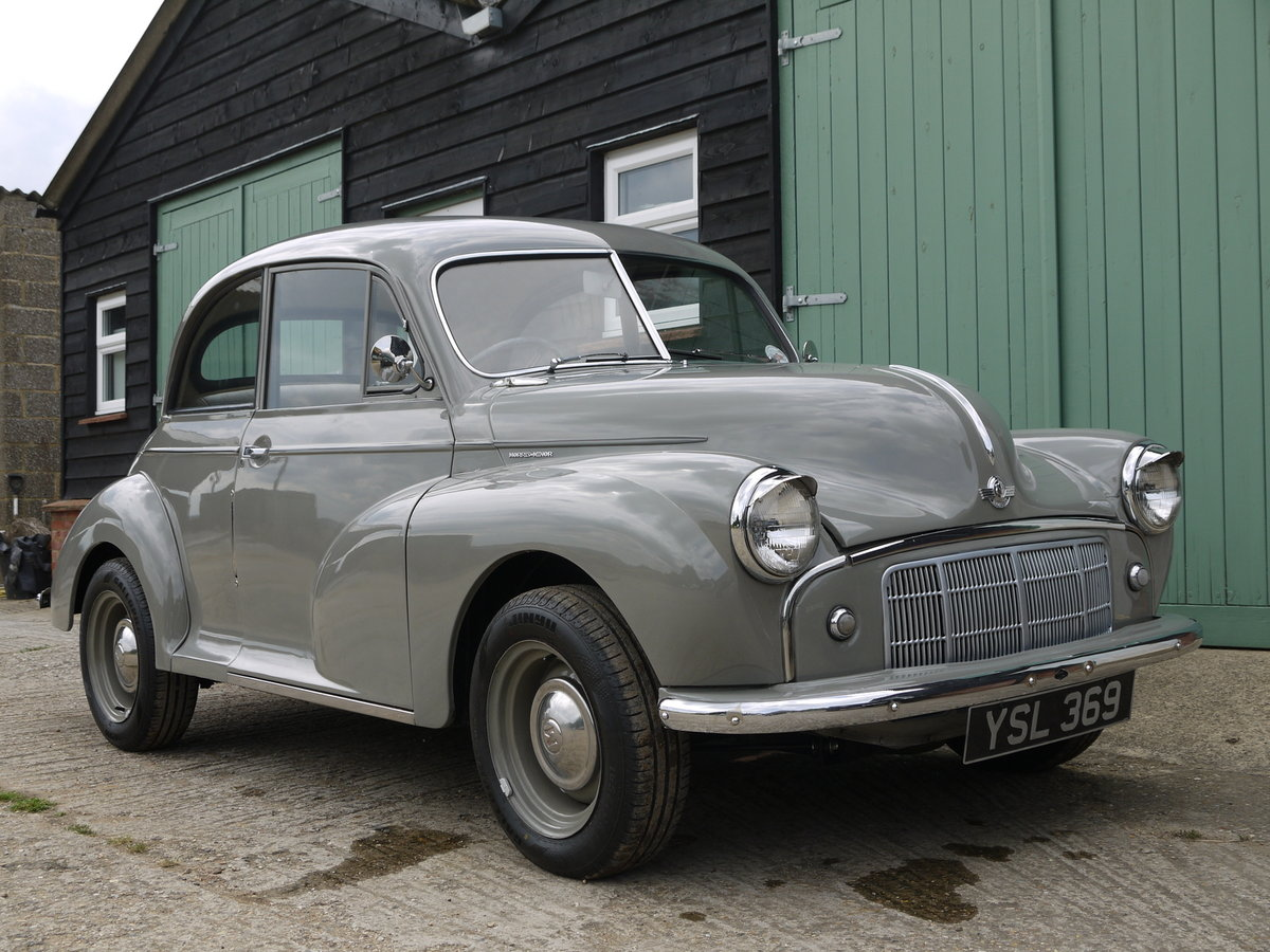 1951 MORRIS MINOR MM  SOLD (picture 1 of 6)