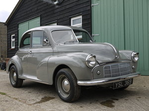 1951 MORRIS MINOR MM  SOLD