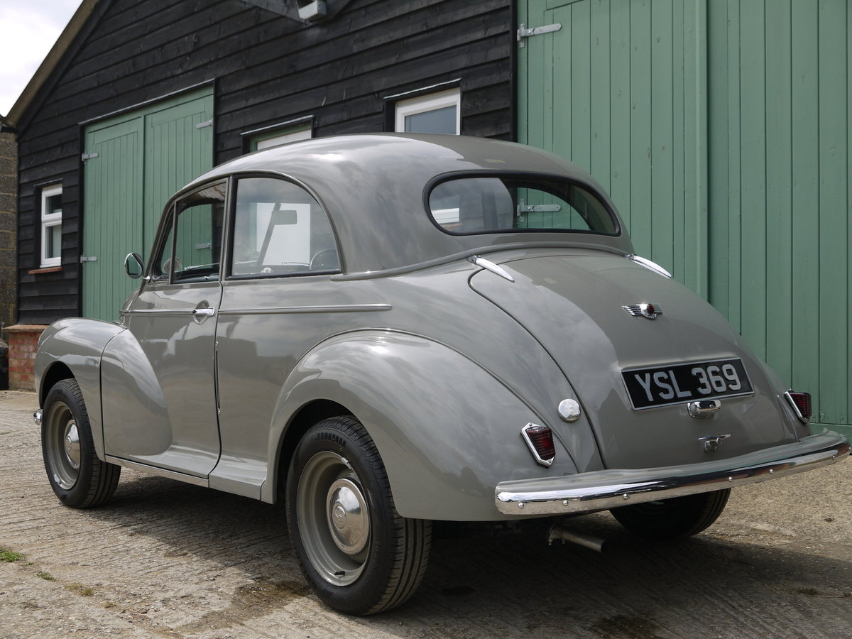 1951 MORRIS MINOR MM  SOLD (picture 2 of 6)