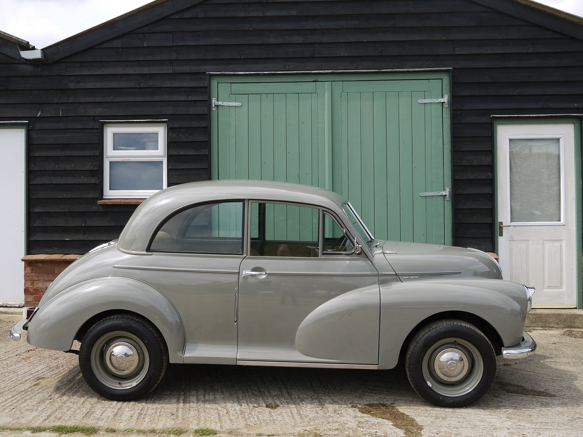1951 MORRIS MINOR MM  SOLD (picture 3 of 6)