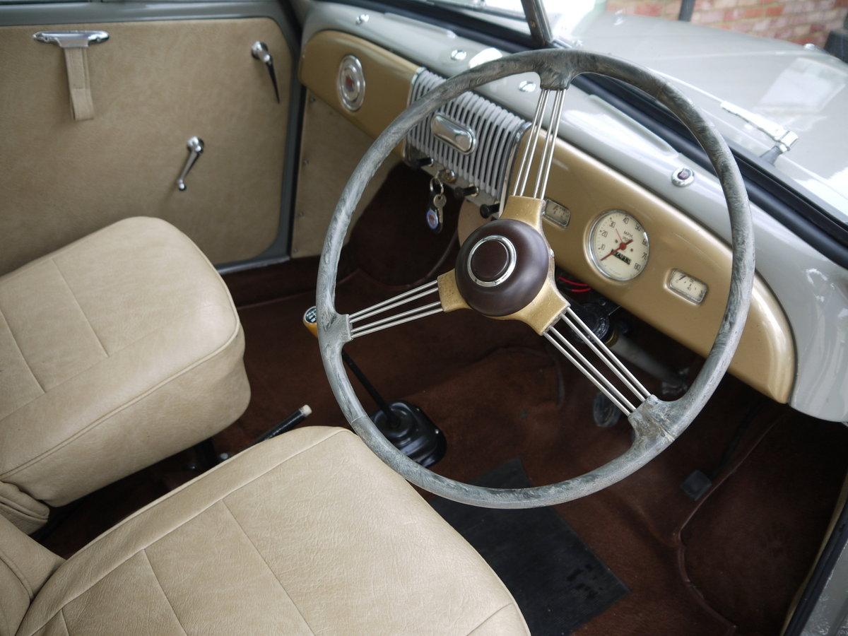 1951 MORRIS MINOR MM  SOLD (picture 5 of 6)