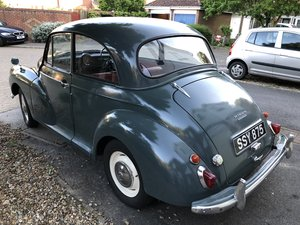 Morris Minor 948cc in Clarendon Grey 1957 Now SOLD