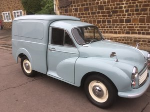 1969 Morris 1000 Van  For Sale by Auction