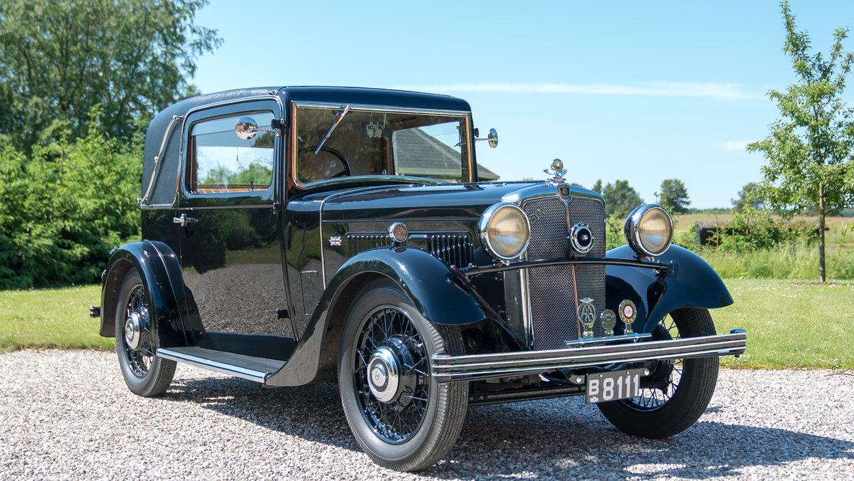 1934 Rare Morris Ten Six Sportmann Coupe  For Sale (picture 1 of 6)