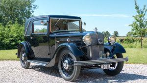 1934 Rare Morris Ten Six Sportmann Coupe