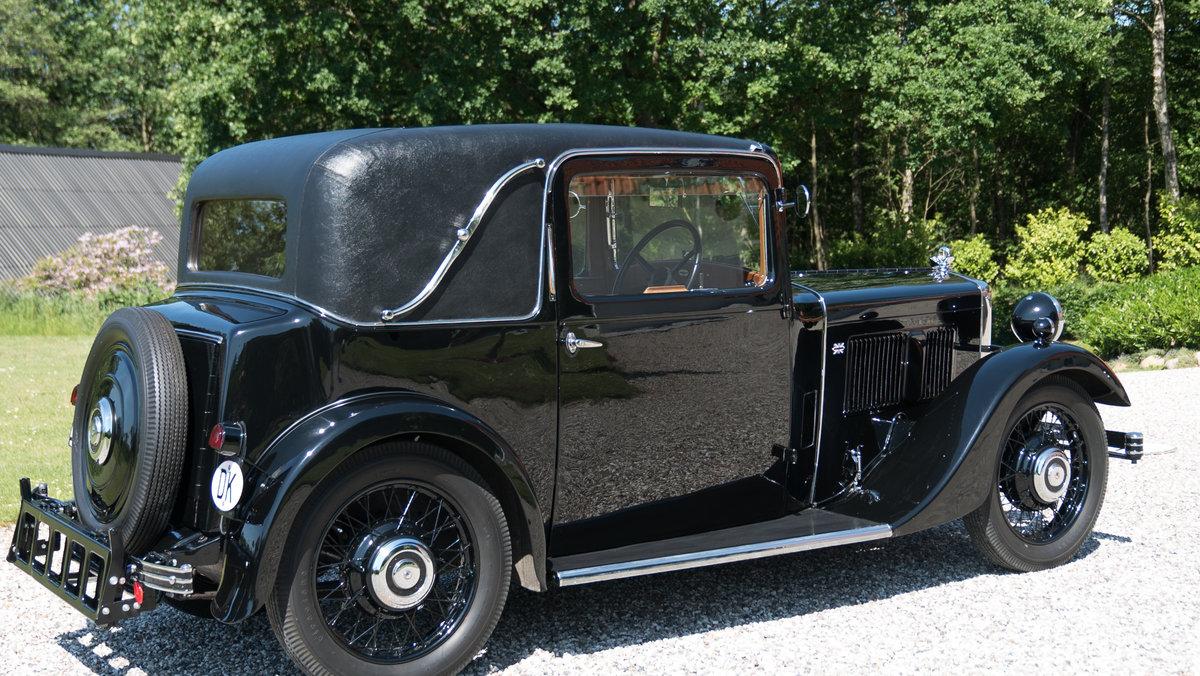 1934 Rare Morris Ten Six Sportmann Coupe  For Sale (picture 3 of 6)