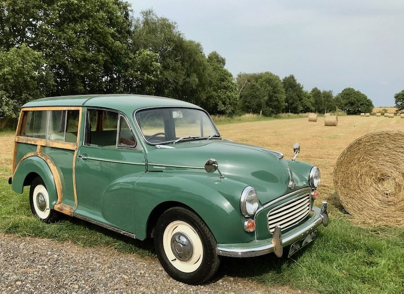 1969 Morris Minor Traveller cheap project, great starter classic SOLD (picture 1 of 6)