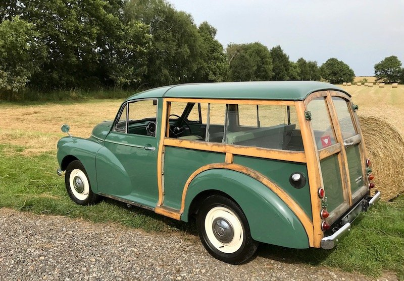 1969 Morris Minor Traveller cheap project, great starter classic SOLD (picture 2 of 6)