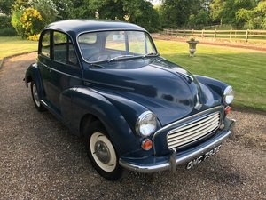 1967 Morris Minor 2 door saloon, low mileage, original