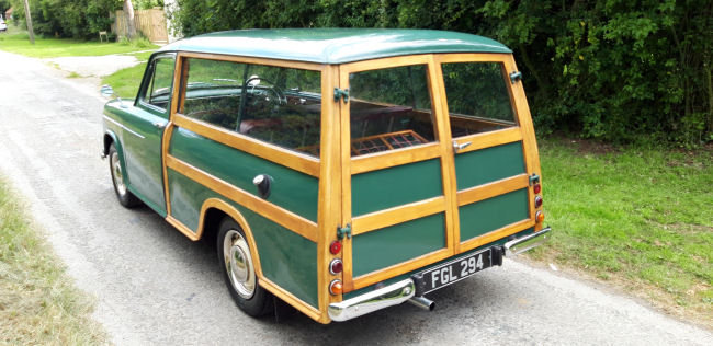 1955 MORRIS OXFORD WOODY ESTATE For Sale (picture 3 of 6)