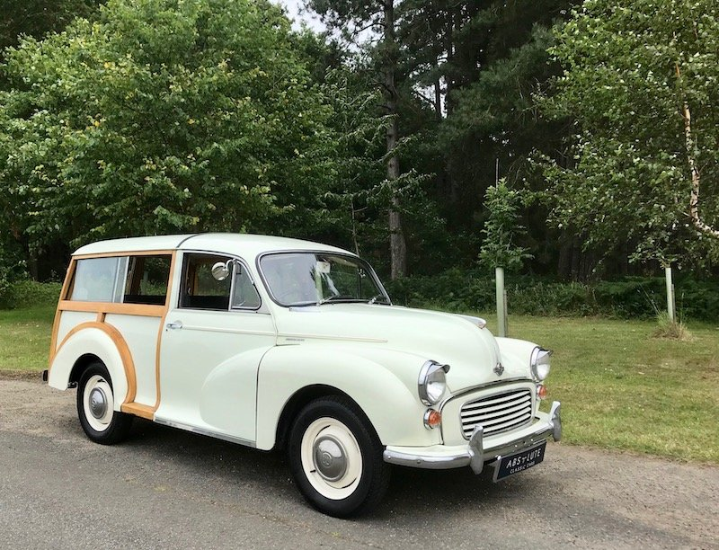 1969 Morris Minor Traveller, A little Gem - Great Wood & Driver SOLD (picture 1 of 6)