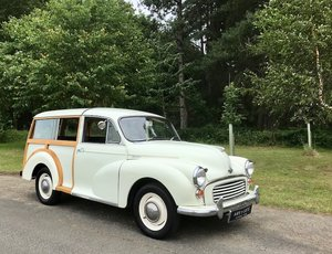 1969 Morris Minor Traveller, A little Gem - Great Wood & Driver For Sale