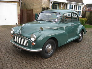 Superb Very Original 1968 Minor  For Sale
