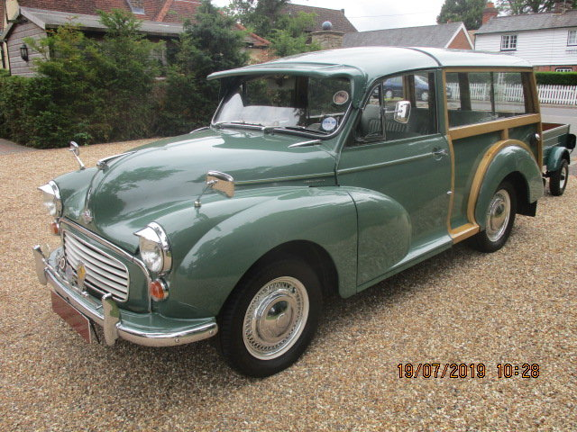 1970 Morris Minor Traveller & Box Trailer SOLD (picture 6 of 6)