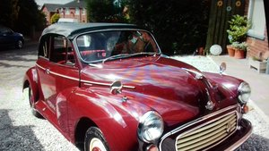 1960 morris minor 1000 convertible For Sale