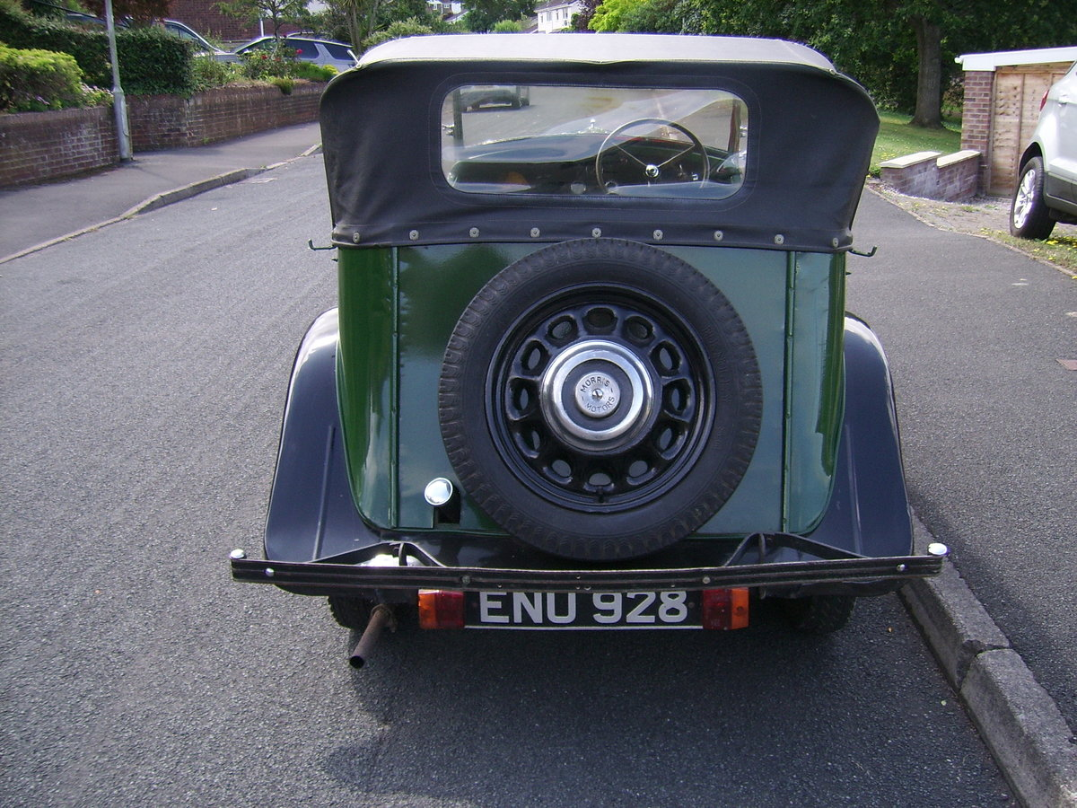 1937 Morris 8 Series 2 Tourer SOLD (picture 4 of 6)