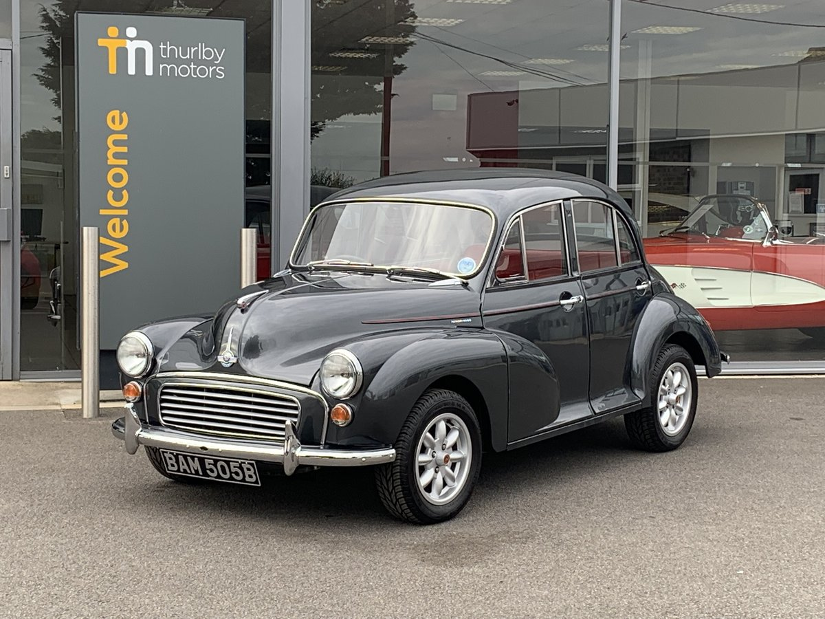 1964 Morris Minor 1000 Restored For Sale (picture 1 of 6)