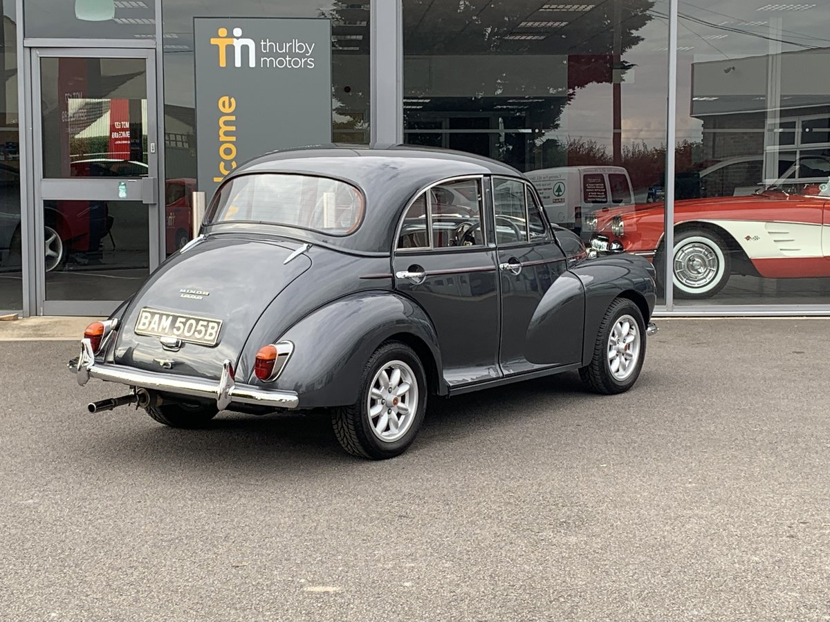 1964 Morris Minor 1000 Restored For Sale (picture 3 of 6)